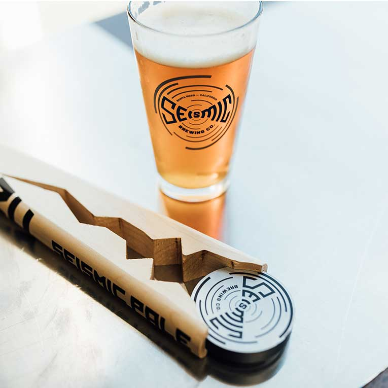 Seismic Beer with Tap handle