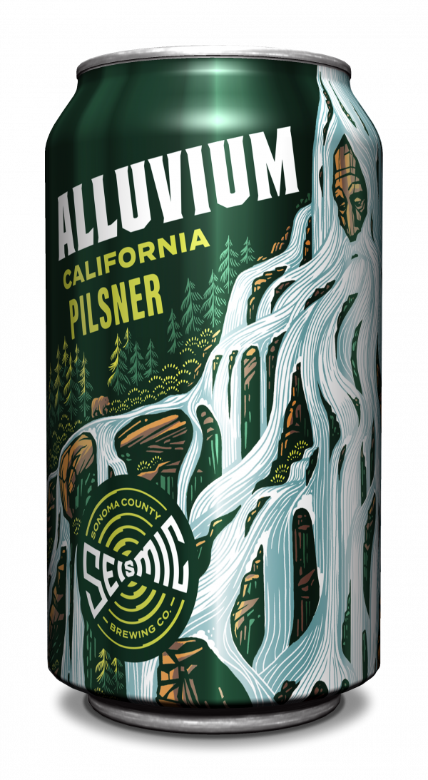 Alluvium California Pilsner Can